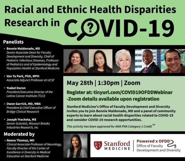Racial and Ethnic Health Disparities Research in COVID-19